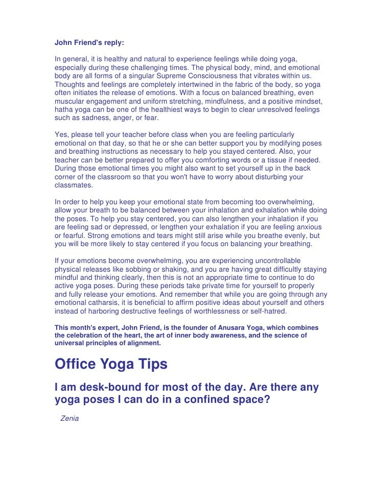 Yoga Questions And Answers 41pgs