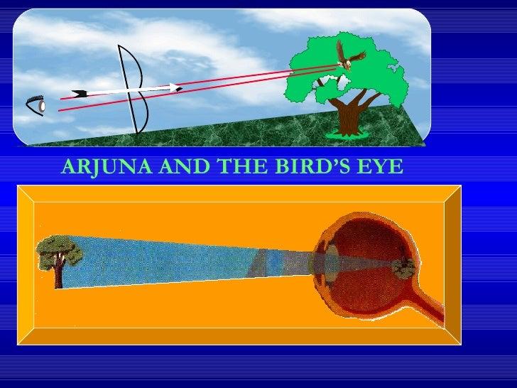 ARJUNA AND THE BIRD'S EYE