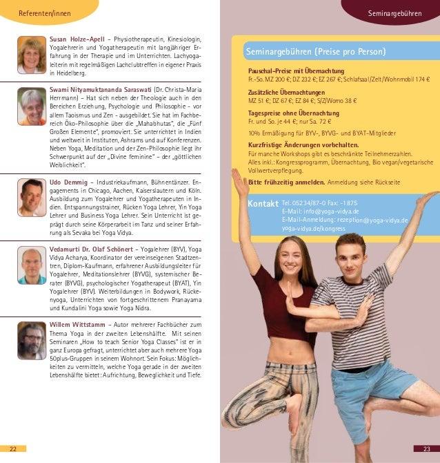Yoga Vidya Yogakongress 2019