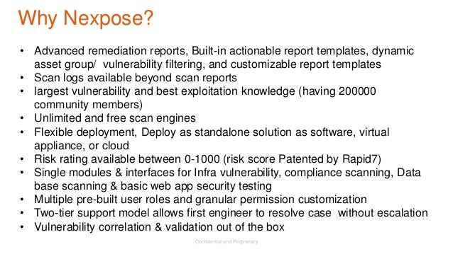 Threat exposure management reduce your risk of a breach for Nexpose scan templates