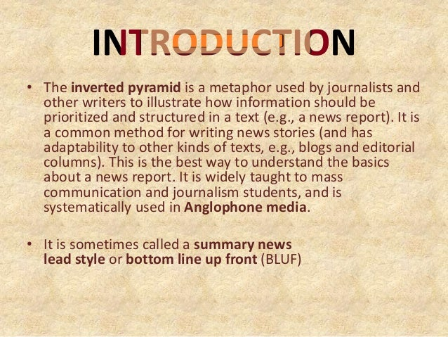 news writing styles Writing in a journalistic style is not a skill all college students get to learn however, it is definitely useful regardless of the career field one chooses we're so used to writing paragraph after paragraph, citing sources, formatting bibliographies, and making sure we meet the page or word count requirement.