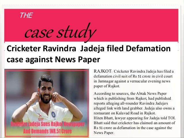 defamation case