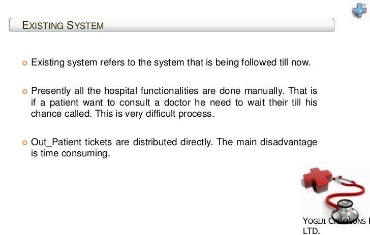 Hospital Management System-out patient Detail