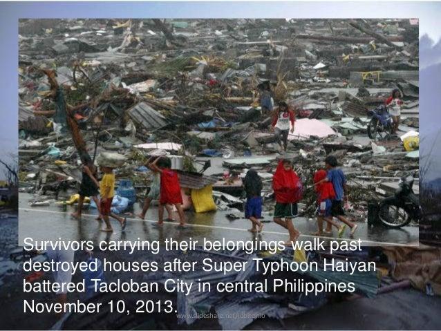 Yolanda 28125353 on After Typhoon Haiyan Devastated Central Philippines On November 8
