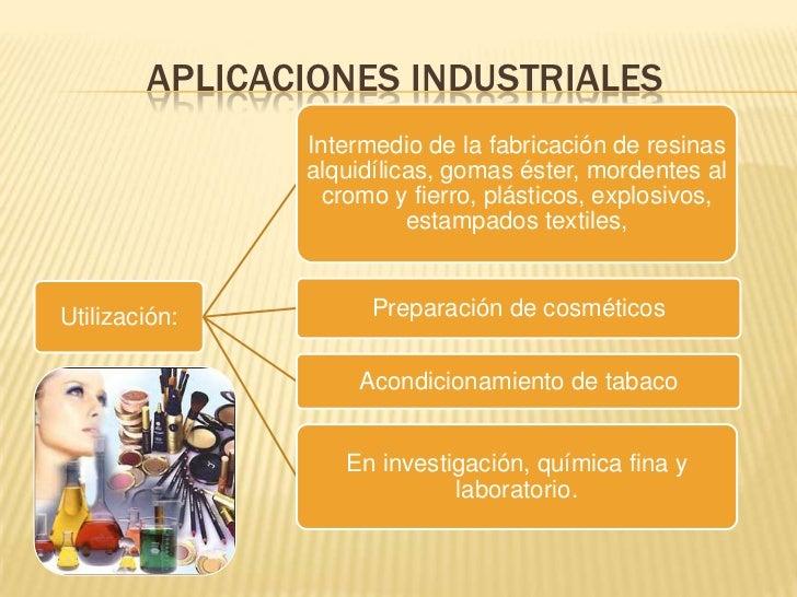 Alcohol al lico aplicaciones industriales y riesgos para - Usos del alcohol ...