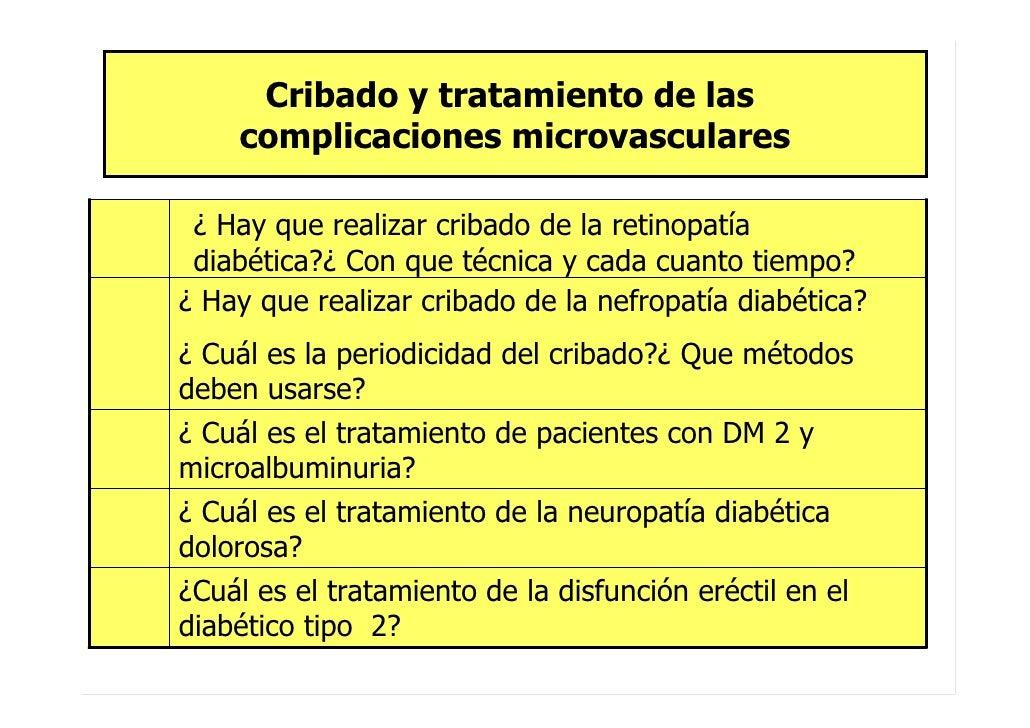 Aspectos clínicos de la Guía de Práctica Clínica sobre