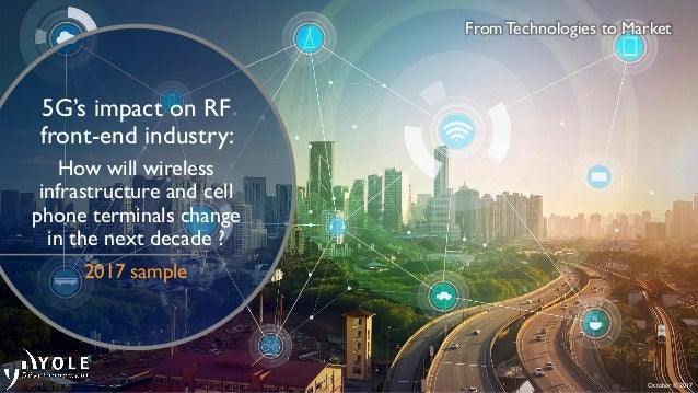 5G's impact on RF front-end industry: How will wireless