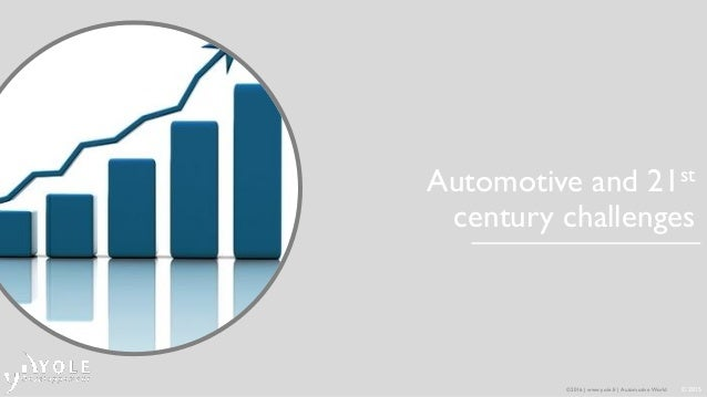 What does the future of automotive market hold? 2016 Presentation Yole Developpement at CAR-ELE Japan Tokyo Slide 3