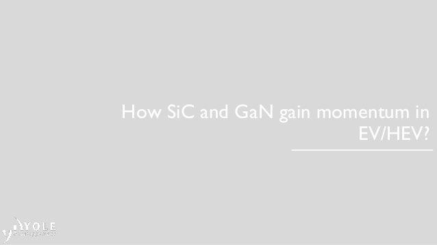 How SiC and GaN gain momentum in EV/HEV?
