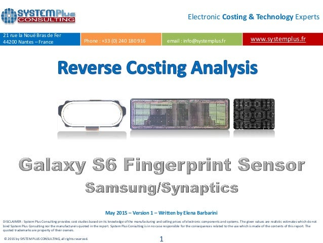 Synaptics Fingerprint Sensors Drivers for Windows 7