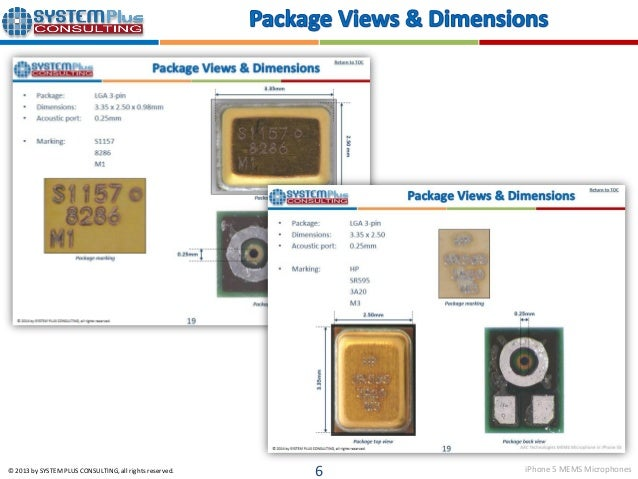 Survey Of Mems Microphone Technology in addition Yole Mems Microphne2014s le also Iphone 5s Mems Microphones Knowles Aac Technologies as well  on iphone 5 mems microphones aac technologies