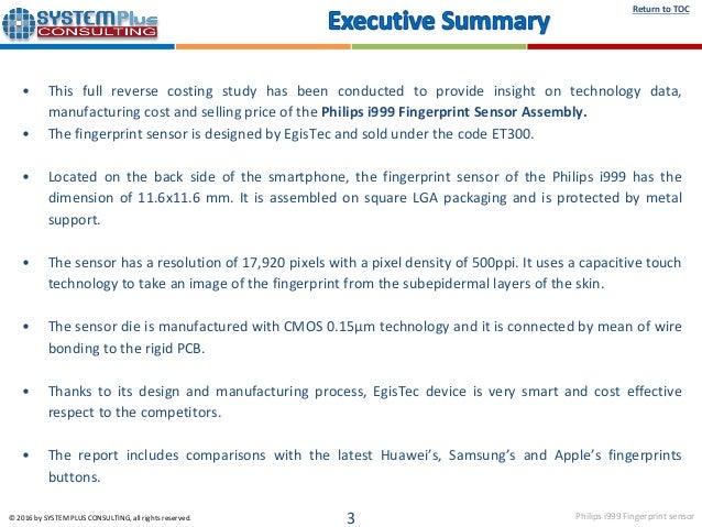 EgisTec ET300 - Fingerprint Sensor 2016 teardown reverse