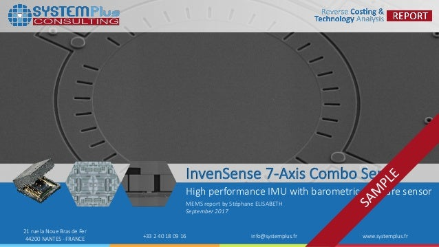InvenSense ICM-20789: High Performance 6-Axis Motion Sensor