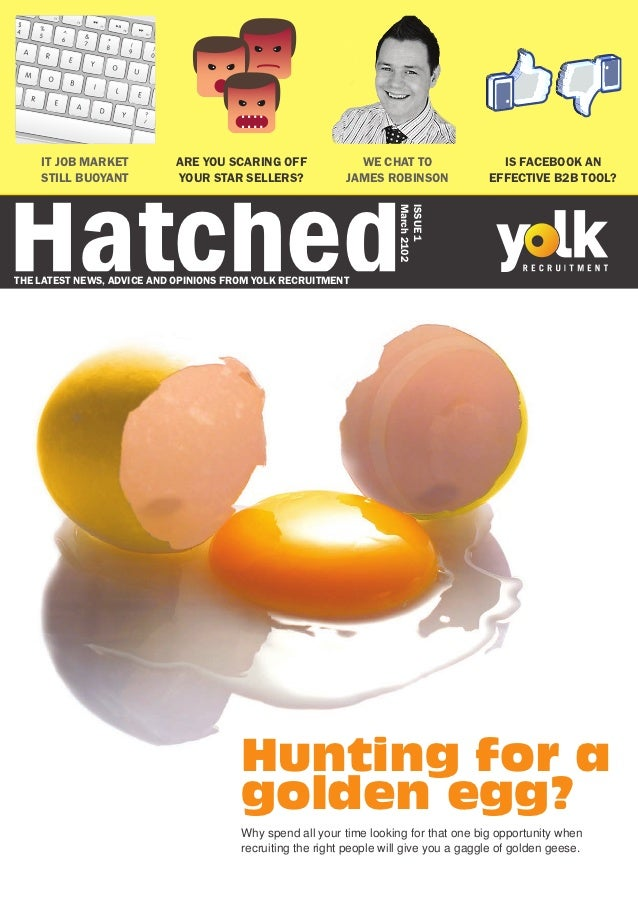 Hatched    IT JOB MARKET           ARE YOU SCARING OFF              WE CHAT TO                  IS FACEBOOK AN    STILL BU...
