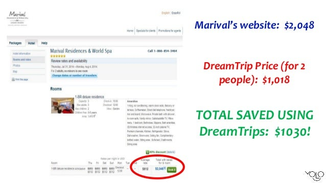 300 Product Purchase Vacation Savings Account WorldVentures 16