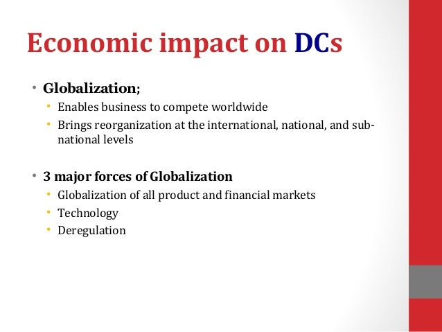 Economic Development & Globalization