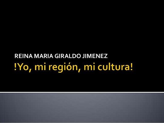 REINA MARIA GIRALDO JIMENEZ