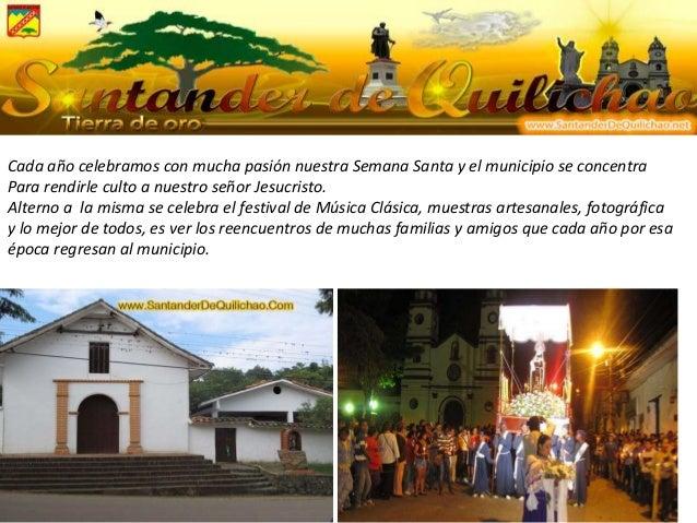 Cada año celebramos con mucha pasión nuestra Semana Santa y el municipio se concentra Para rendirle culto a nuestro señor ...