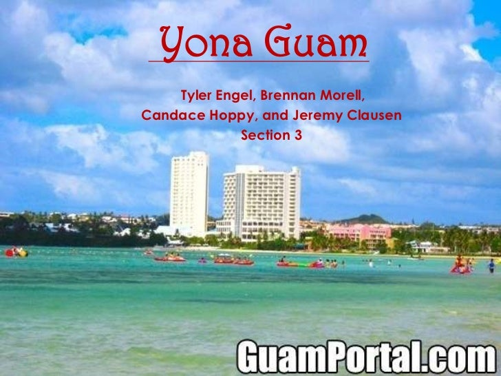 Yona Guam <br /> Tyler Engel, Brennan Morell, <br />Candace Hoppy, and Jeremy Clausen<br />Section 3<br />