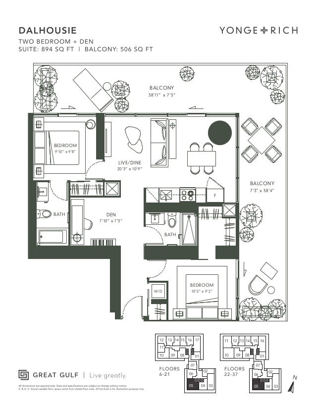 18 yonge floor plans 18 yonge floor plans 10 queens quay w for 16 yonge floor plans