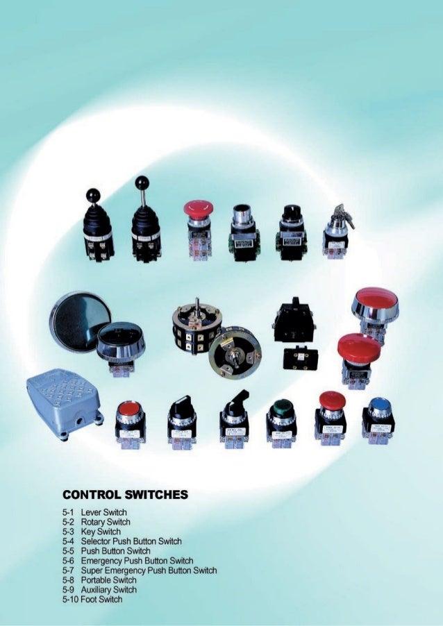Thông số kỹ thuật nút ấn YoungSung, YongSung button switch Catalogue