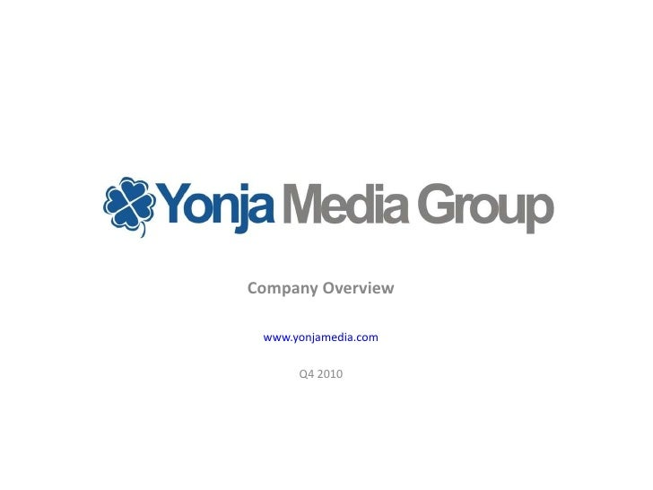 Yonja media group   oct 2010