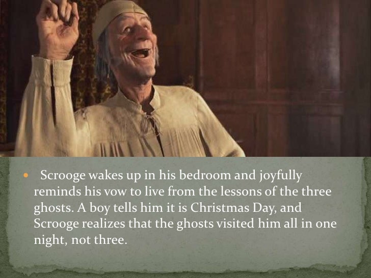 Image result for scrooge wakes up