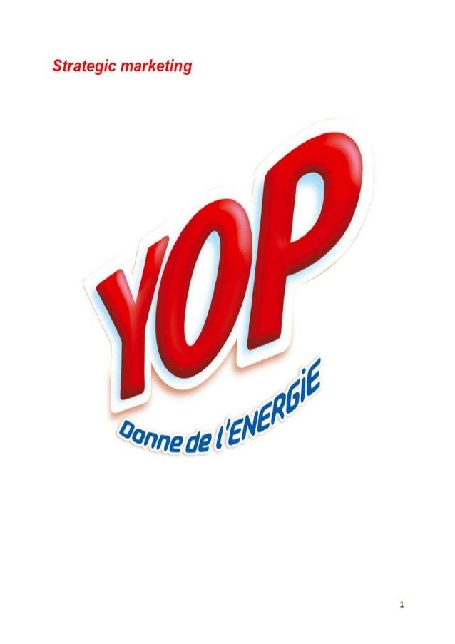 Yop strategic marketing analysis