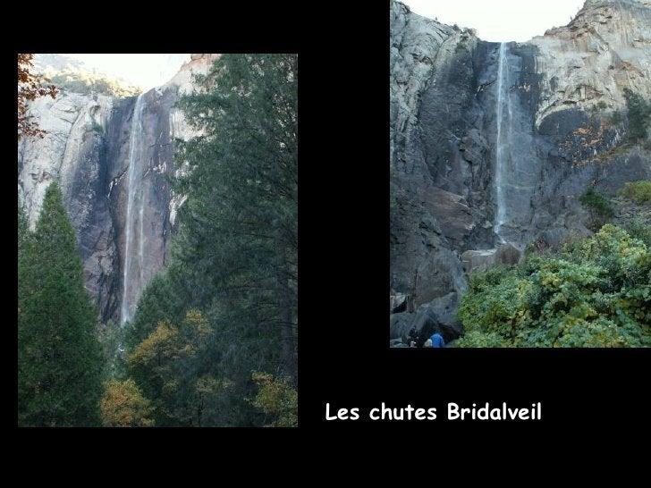 Les chutes Bridalveil
