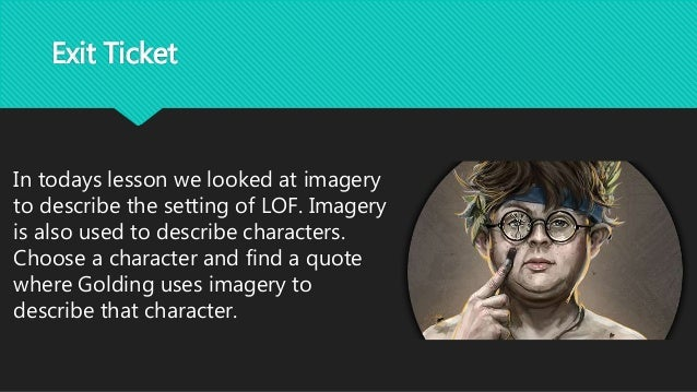 Lord Of The Flies Example Presentation