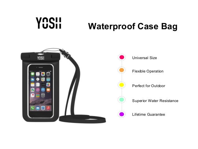 super popular c83ca 1e762 YOSH® Lifetime Warranty Waterproof Case Bag