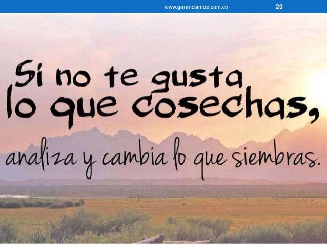 www.gerenciamos.com.co 24  Jesucristo nos da este consejo:  Hagan ustedes con los demás como quieren  que los demás hagan ...