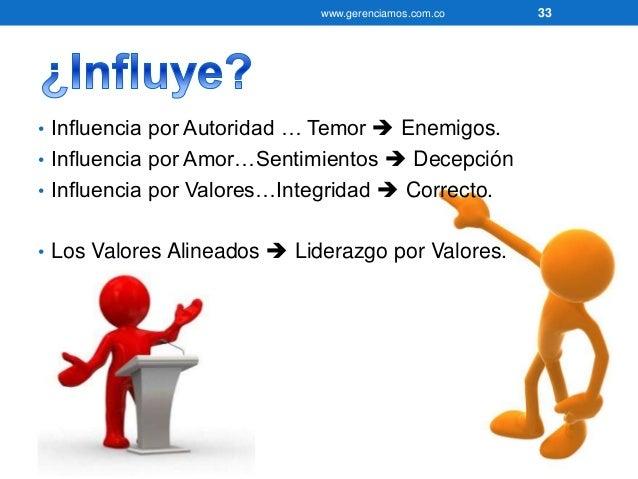www.gerenciamos.com.co 34  • Si preguntamos a sus compañeros de…  • ¿Qué estela ha dejado en ellos?  • Positiva o negativa...