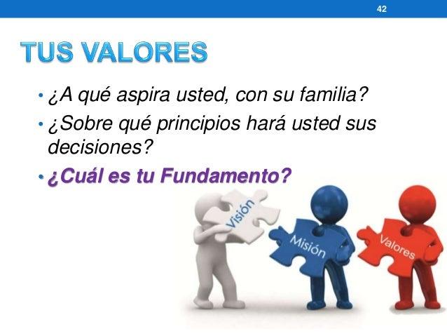 www.gerenciamos.com.co 43  • Su Fundamento… SE LE NOTARÁ  • Usted no podrá influir sin un Fundamento.  • ¿En qué se FUNDAM...