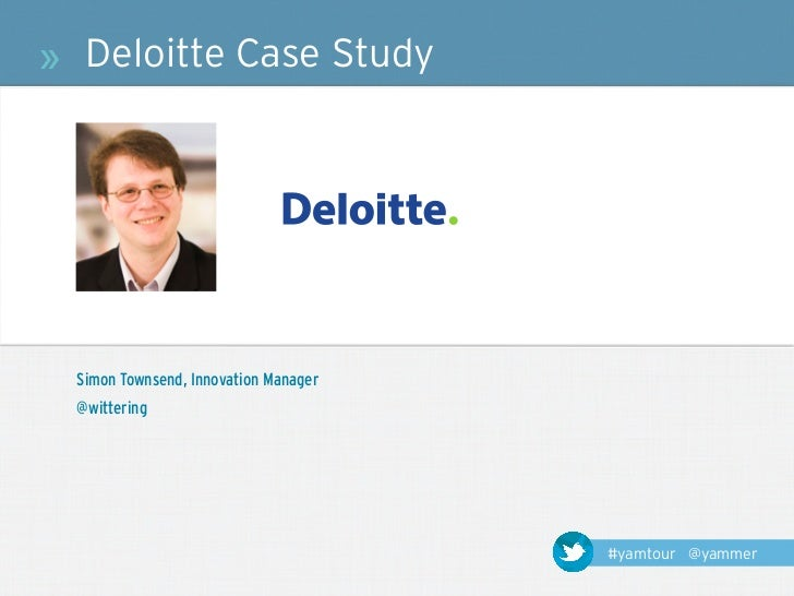 deloitte case studies solutions What are some case study examples asked for deloitte consulting including the analysis and the solutions how should one prepare for a deloitte group case.