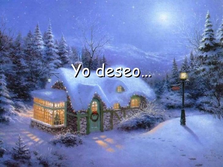 Yo deseo…