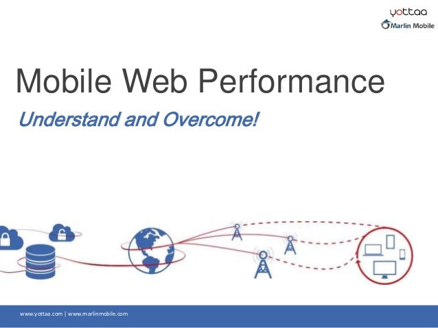 www.yottaa.com | www.marlinmobile.com Understand and Overcome! Mobile Web Performance