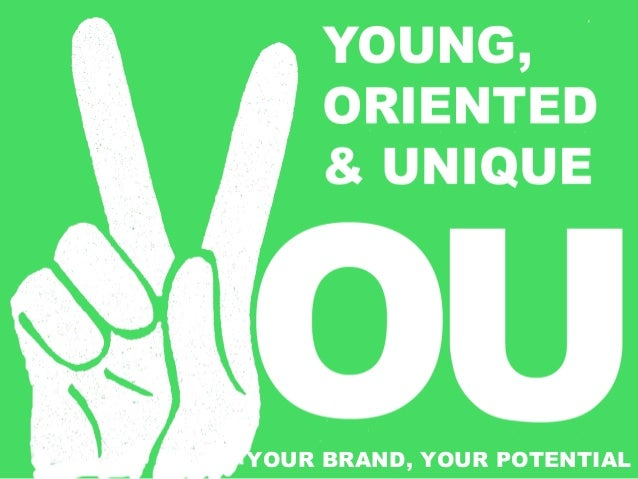 YOUR BRAND, YOUR POTENTIAL