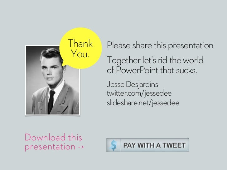 Thank   Please share this presentation.           You.                  Together let's rid the world                  of P...