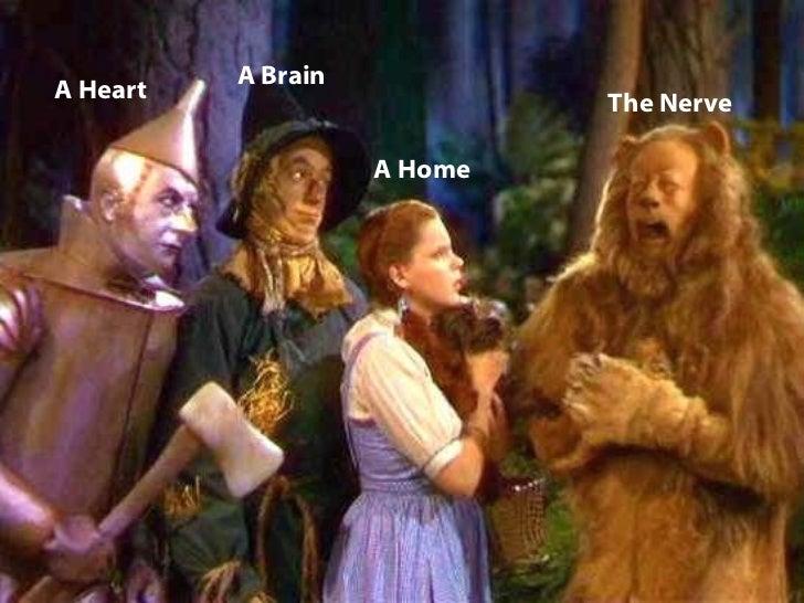 A Heart A Brain The Nerve A Home