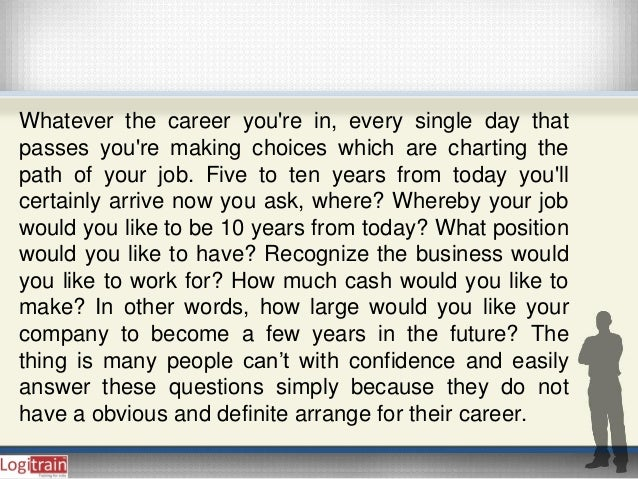 You are Confident With Your Career Plan?  Slide 2