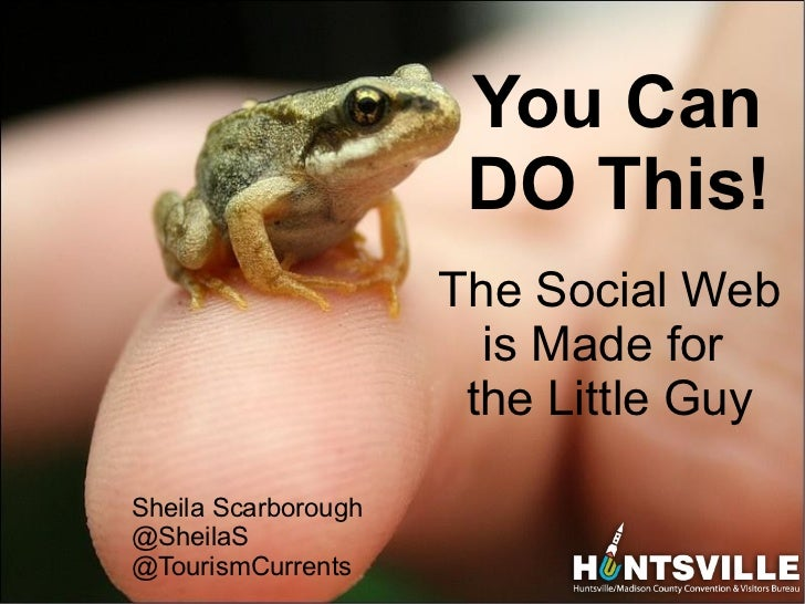 You Can                               DO This!                              The Social Web                                ...