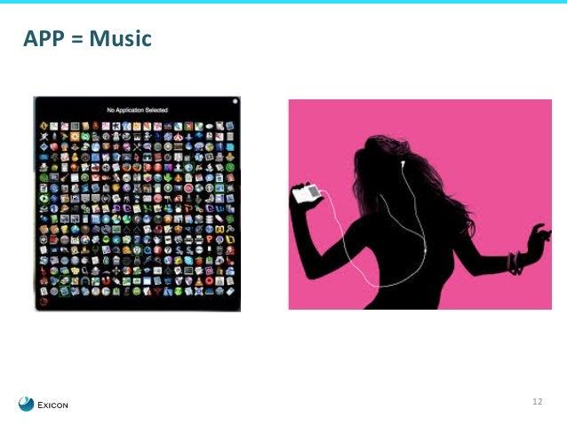 12  APP  =  Music