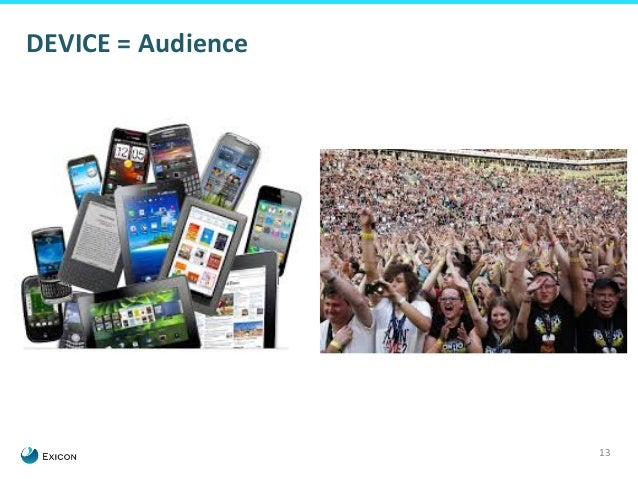 13  DEVICE  =  Audience