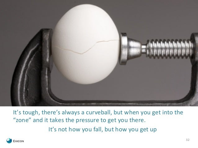 "32  It's  tough,  there's  always  a  curveball,  but  when  you  get  into  the  ""zone""  and  it  takes  the  pressure  t..."