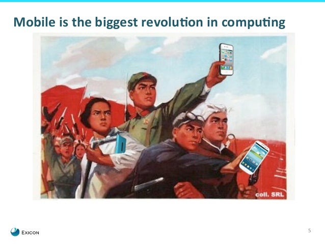 5  Mobile  is  the  biggest  revoluGon  in  compuGng
