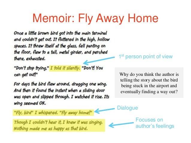 how to write a memoir ppt