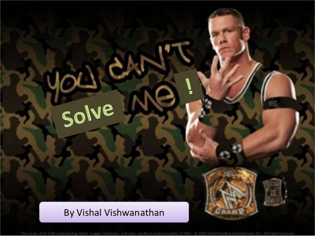 By Vishal Vishwanathan