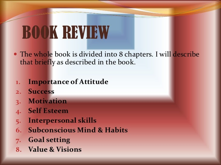 BOOK REVIEW The whole book is divided into 8 chapters. I will describe  that briefly as described in the book.1.   Import...