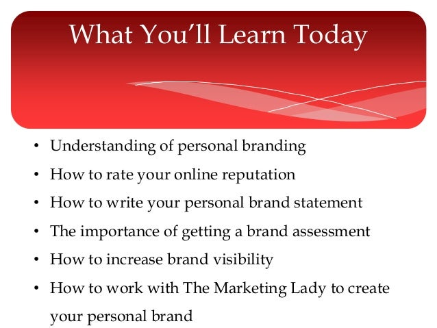 an understanding of personal branding The problem with this is that many times our intuition is wrong understanding behavioral economics may help companies the personal branding blog.